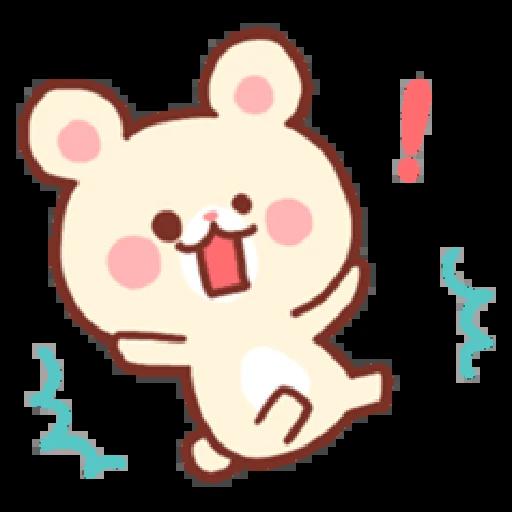Bear & Bunny - Sticker 17