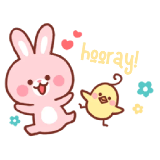 Bear & Bunny - Sticker 6