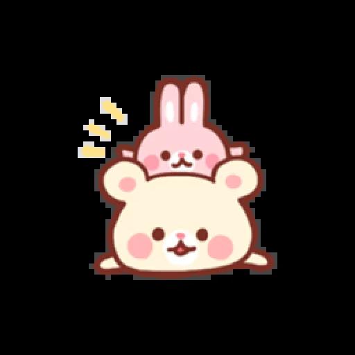 Bear & Bunny - Sticker 29