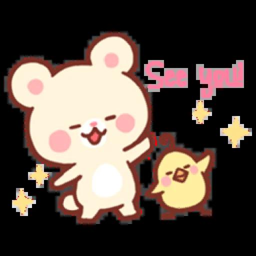Bear & Bunny - Sticker 21