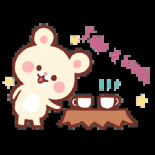 Bear & Bunny - Sticker 30