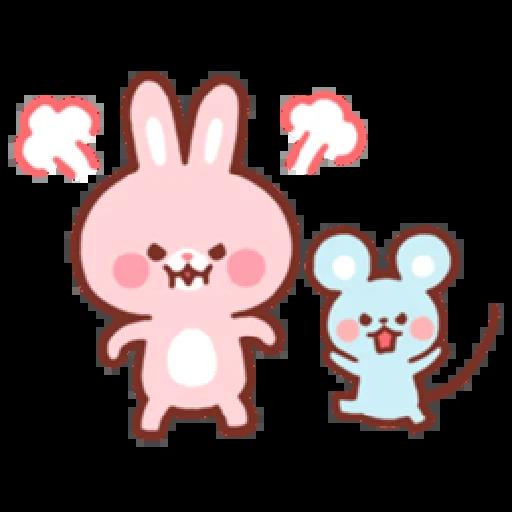 Bear & Bunny - Sticker 8