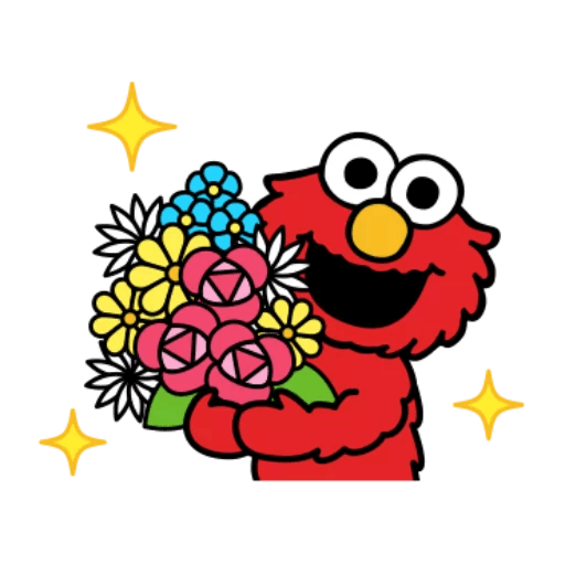 Sesame Street 1 - Sticker 26