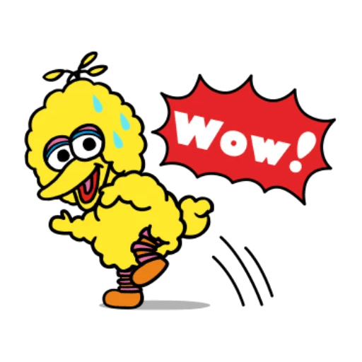 Sesame Street 1 - Sticker 12