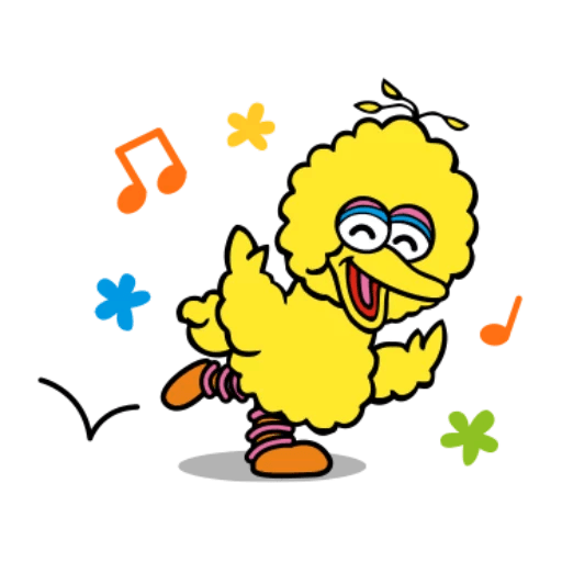 Sesame Street 1 - Sticker 8