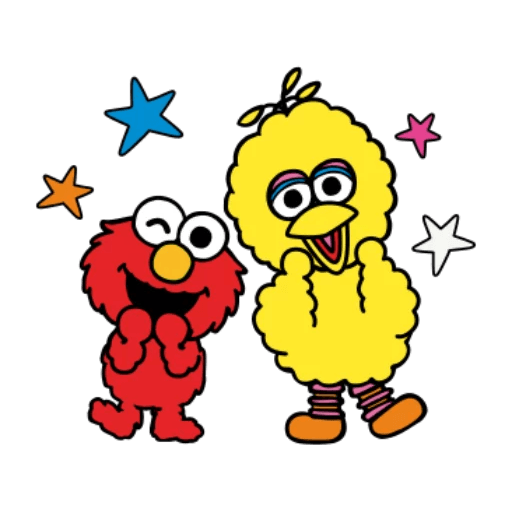 Sesame Street 1 - Sticker 30
