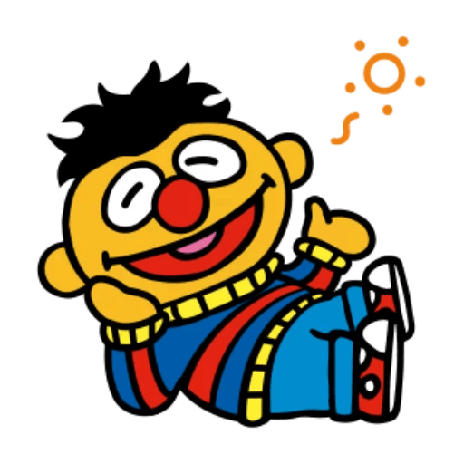 Sesame Street 1 - Sticker 24