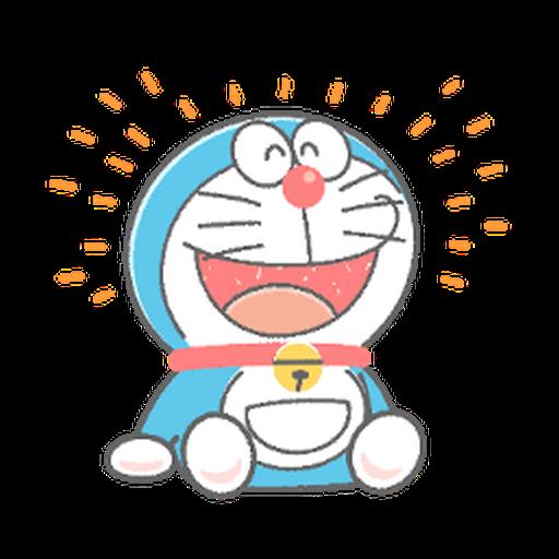 ドラえもん クレヨン - Sticker 3