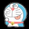 ドラえもん クレヨン - Tray Sticker