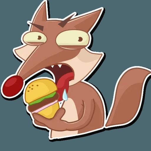 Wild Coyote - Sticker 17