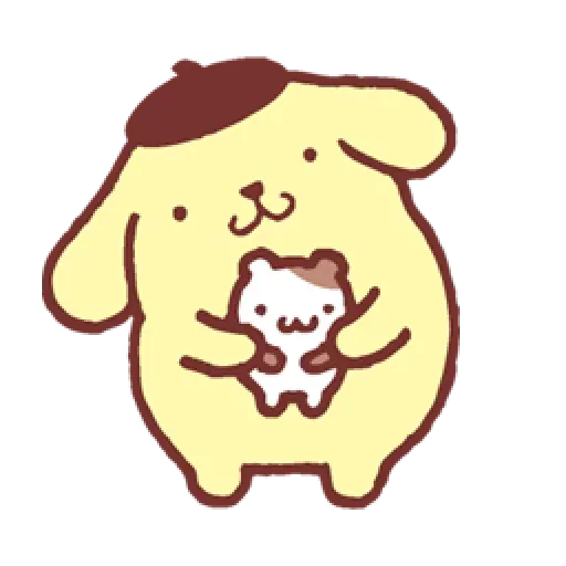 Pompompurin ? - Tray Sticker
