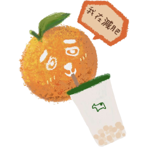 Milksha Fruitea Family - Sticker 12
