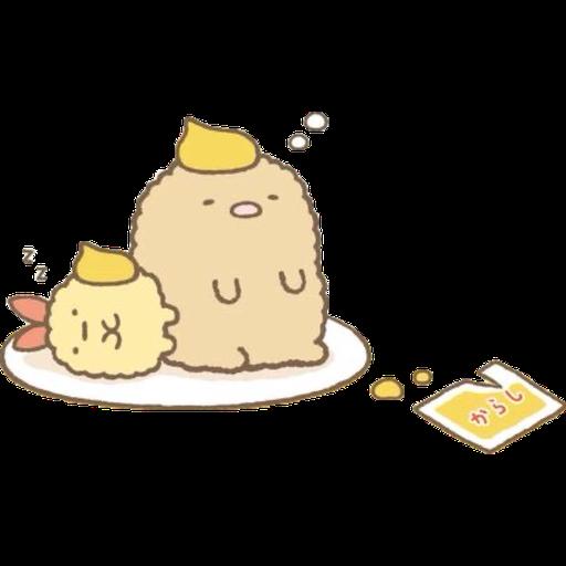 角落生物 - 炸豬扒 - Sticker 9