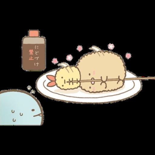 角落生物 - 炸豬扒 - Sticker 4