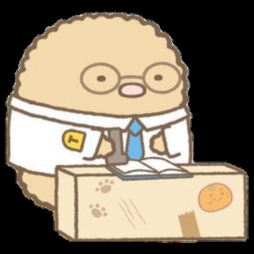 角落生物 - 炸豬扒 - Sticker 24