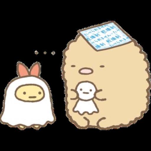 角落生物 - 炸豬扒 - Sticker 17