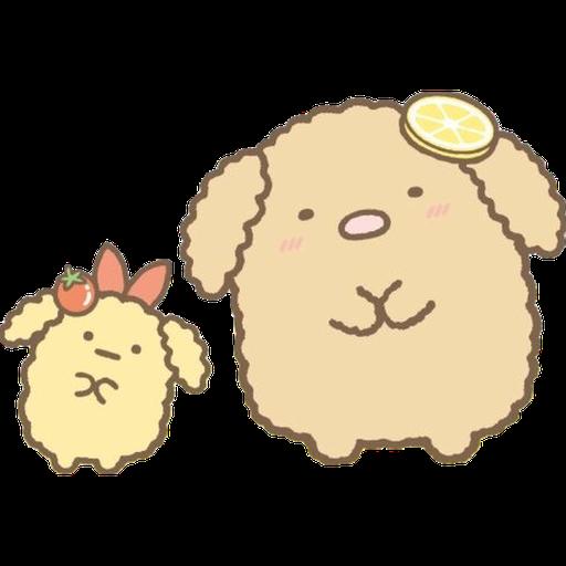 角落生物 - 炸豬扒 - Sticker 21