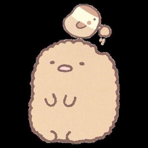 角落生物 - 炸豬扒 - Sticker 22