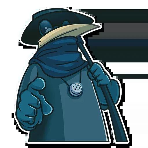 Plague - Sticker 29