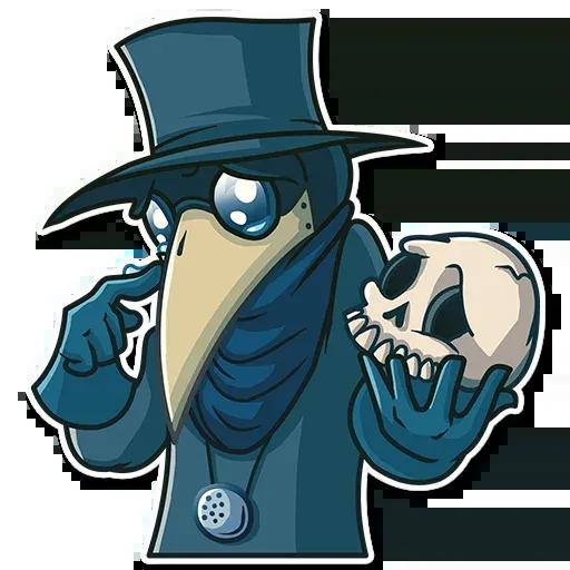 Plague - Sticker 20