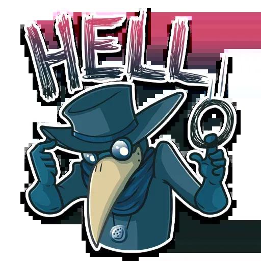Plague - Sticker 6