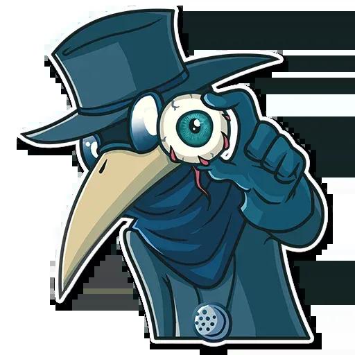 Plague - Sticker 22