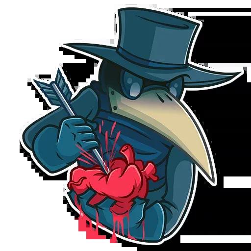 Plague - Sticker 16