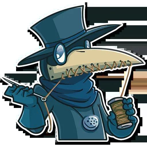 Plague - Sticker 13