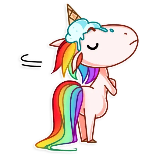 Unicornio - Sticker 16