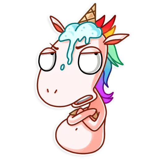 Unicornio - Sticker 28