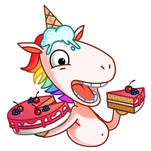 Unicornio - Sticker 27