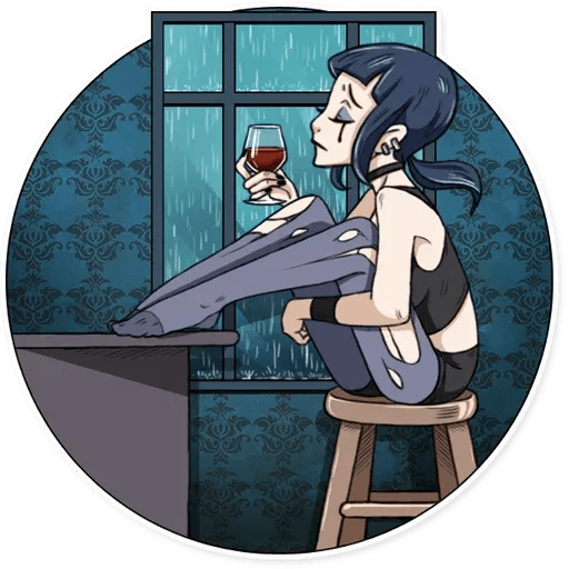 Bad Girl - Sticker 21