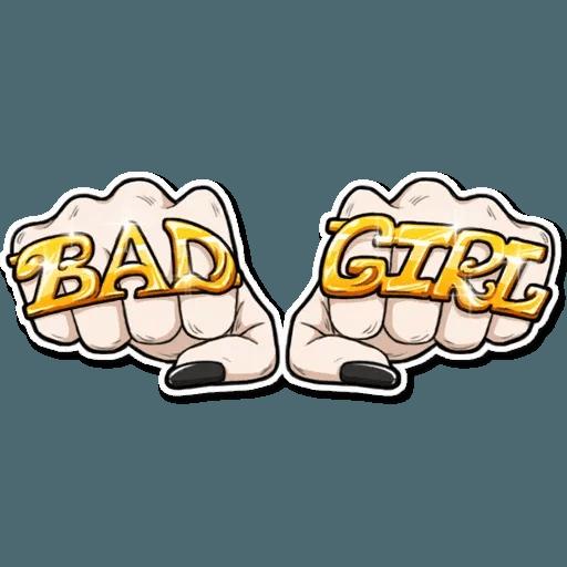 Bad Girl - Sticker 29