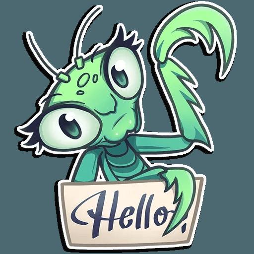Mantis Eva - Sticker 9