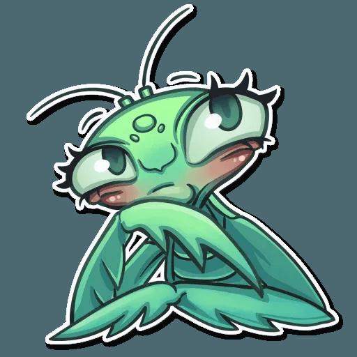 Mantis Eva - Sticker 12