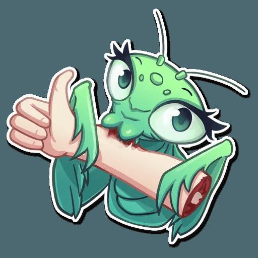 Mantis Eva - Sticker 2