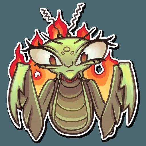 Mantis Eva - Tray Sticker