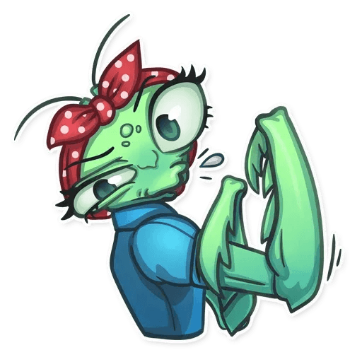 Mantis Eva - Sticker 11