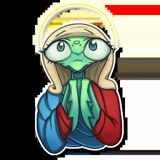 Mantis Eva - Sticker 14
