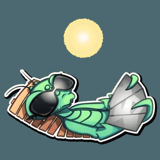 Mantis Eva - Sticker 26