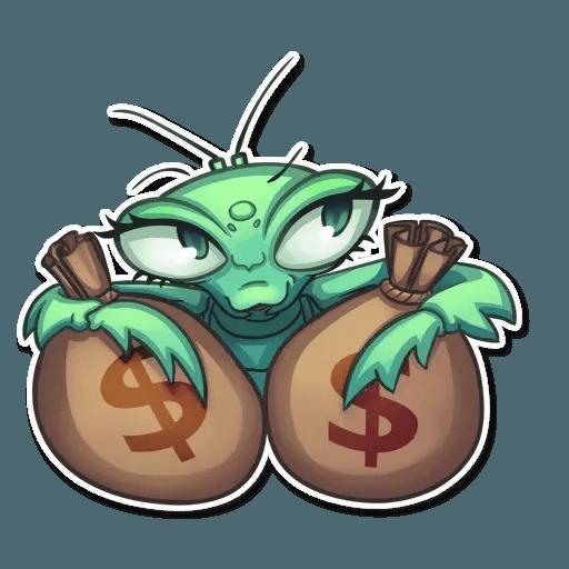 Mantis Eva - Sticker 21