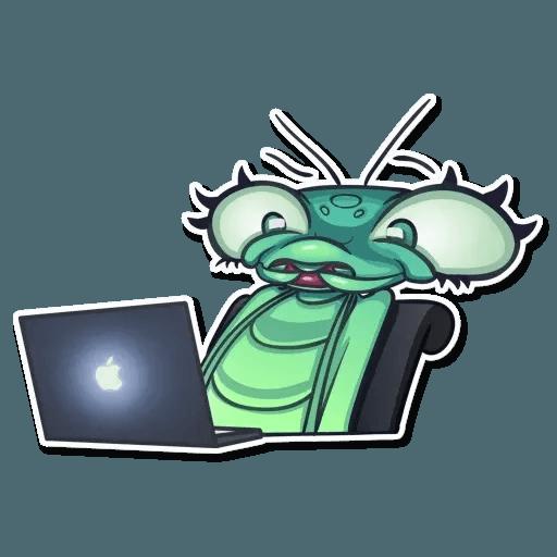 Mantis Eva - Sticker 5