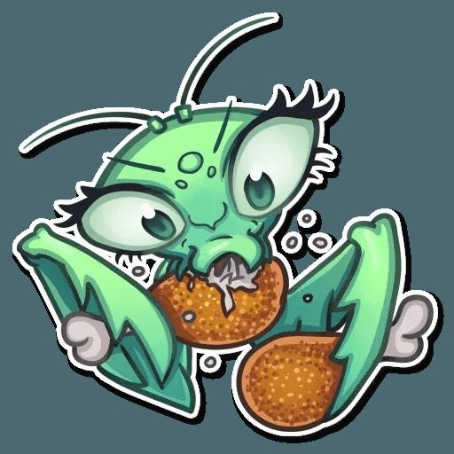Mantis Eva - Sticker 8