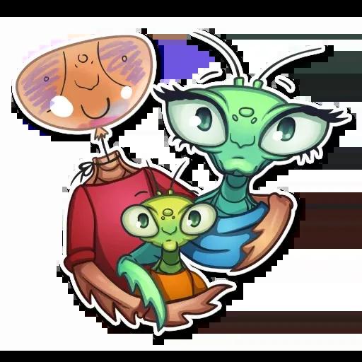 Mantis Eva - Sticker 19