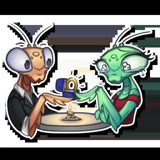Mantis Eva - Sticker 17