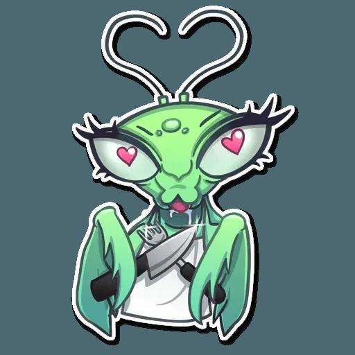 Mantis Eva - Sticker 7