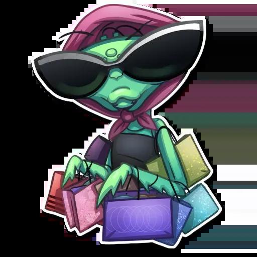 Mantis Eva - Sticker 22