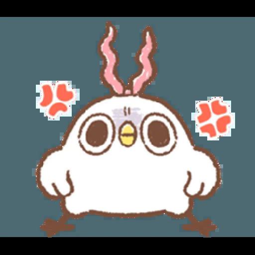 """太可愛了!誰能不""""鳥""""我 (2) - Sticker 18"""