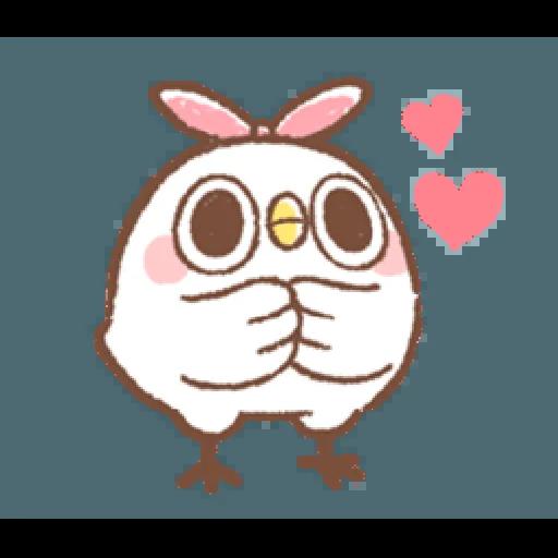 """太可愛了!誰能不""""鳥""""我 (2) - Sticker 7"""