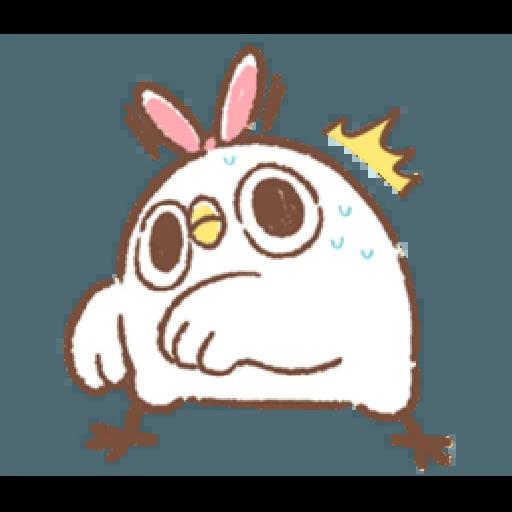 """太可愛了!誰能不""""鳥""""我 (2) - Sticker 9"""
